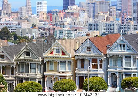 San Francisco Alamy Square