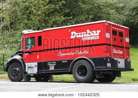 Dunbar Armored Vehicle