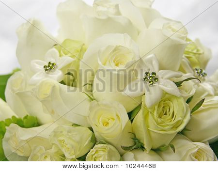 Monotone Bridal Bouquet