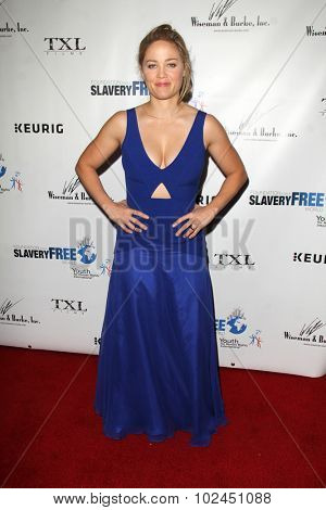 LOS ANGELES - SEP 21:  Erika Christensen at the The Human Rights Hero Awards at the Beso on September 21, 2015 in Los Angeles, CA