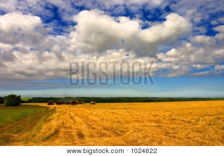 Clouds And Combines