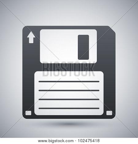 Vector Floppy Disk Icon