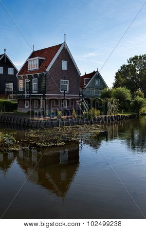 Typical fisherman's house in Marken