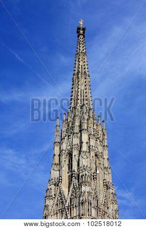 Large Cathedral, Stephansplatz, Vienna, Austria,