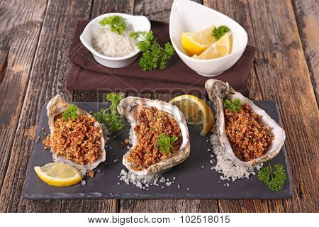 christmas entree, oyster