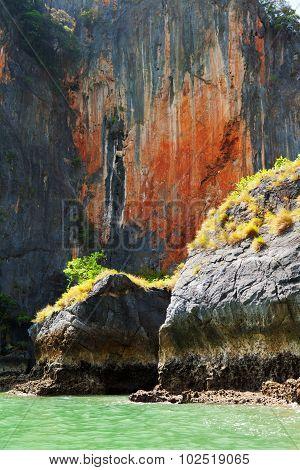 High Rock In Pang Nga Bay, Thailand