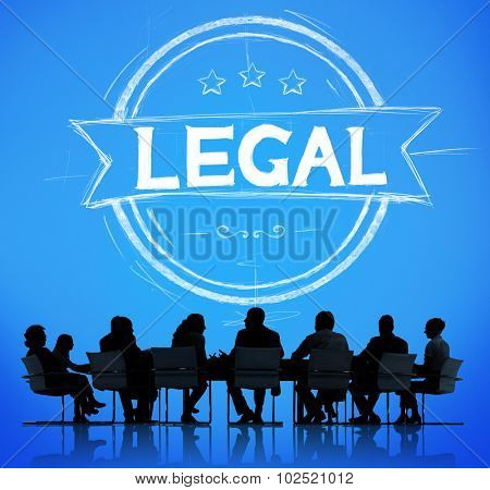 Legal Legalisation Laws Justice Ethical Concept