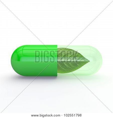 The Illustration On The Theme Of Alternative Medicine