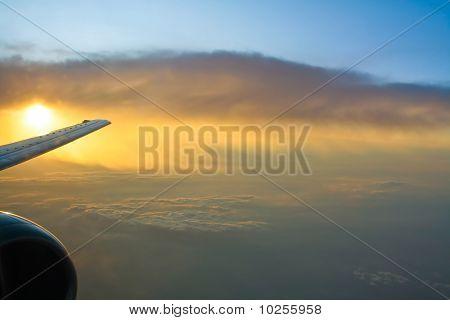 in the skies