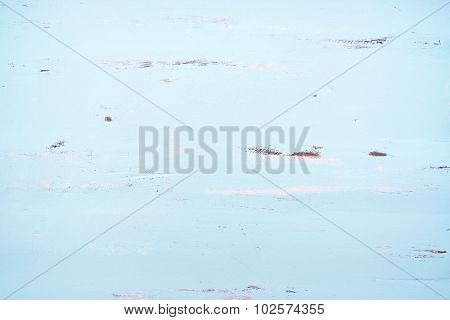 Pale Blue Rustic Wood Background.