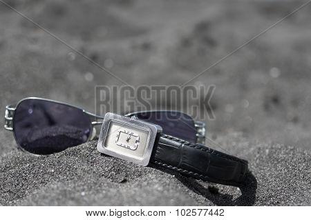 Sunglasses And Wrist Watch