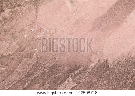 Old Cement Wall For Background