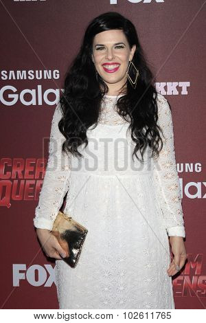 LOS ANGELES - SEP 21:  Alexis Woodell at the Premiere of FOX TV's