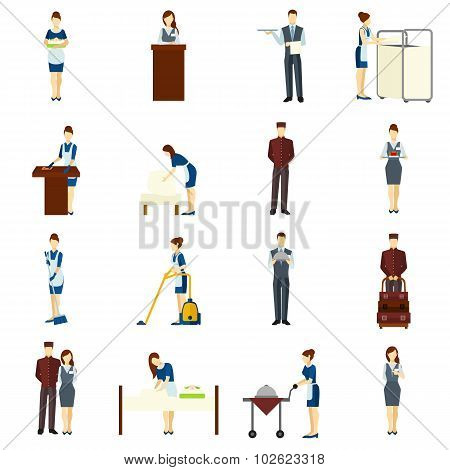 Hotel Staff Set