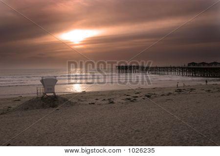 Guardhouse Sunset