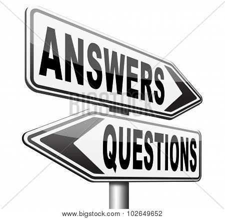 Answers Questions