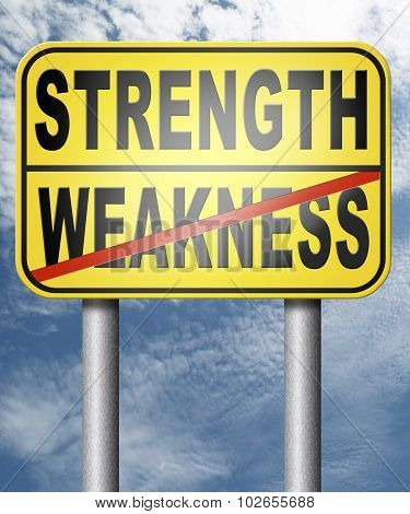Strenght Weakness