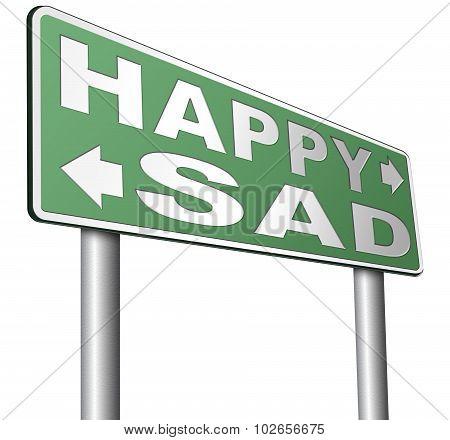 Happy Or Sad