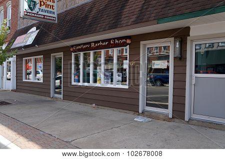 Sanitary Barber Shop