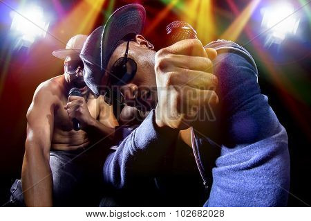 Hip Hop Rap Group Concert