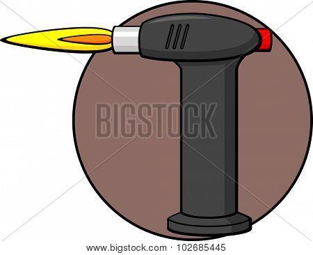 butane torch poster