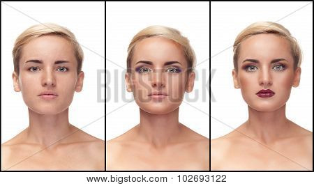 Make Up Process From Start To Finish