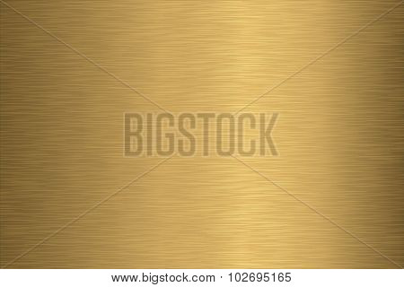 Brushed Gold Texture
