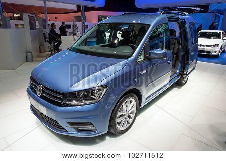 2016 Volkswagen Caddi Maxi Tgi Bluemotion