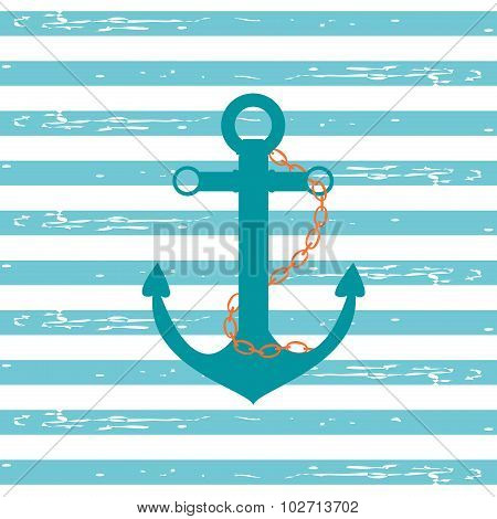 Nautical Ship Anchor