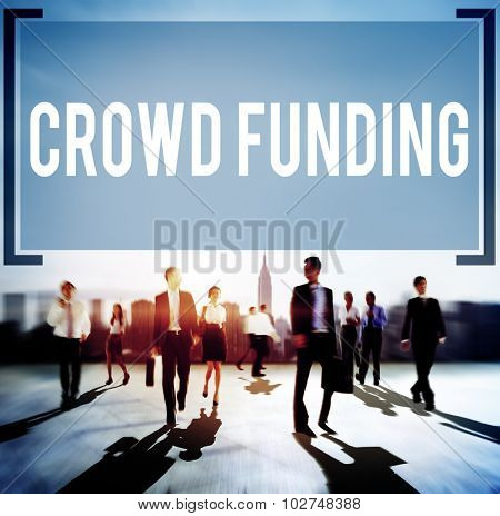 Crowd Funding Contribution Donate Fundraiser Concept