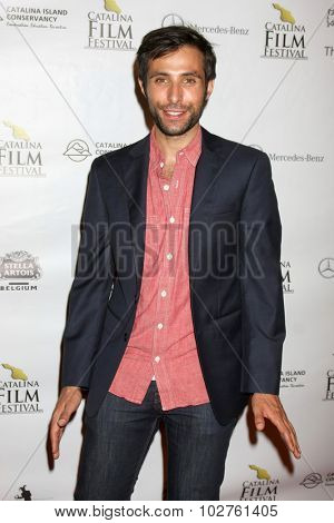 LOS ANGELES - SEP 24:  Mitch Lerner at the Catalina Film Festival Opening Night Feature -- West of Redemption at the Lancer Auditorium on September 24, 2015 in Avalon, CA