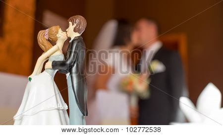 Wedding Kiss Composition