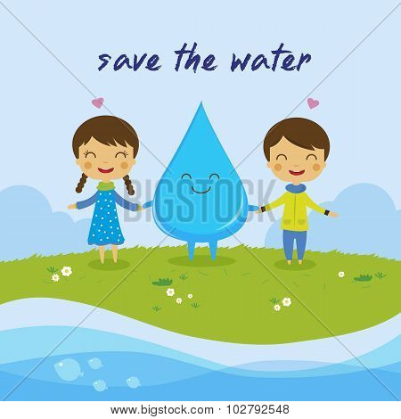Save The Water-save The World
