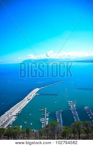 View Of Gulf Of Castelammare Sicily