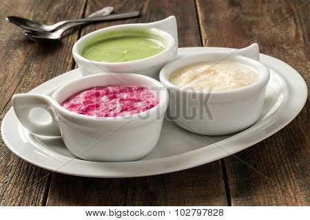 Various Hot Spices Cooked Of Horseradish