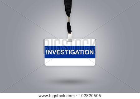 Investigation On Badge