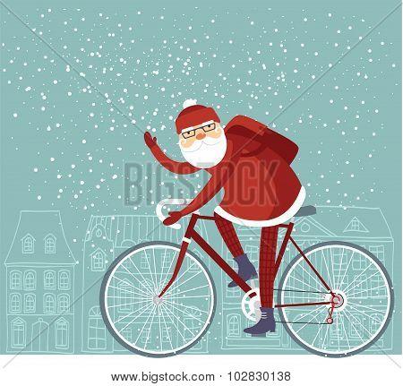 Trendy Santa