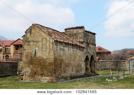 Antioch Church In Mtskheta, Ancient Capital And One Of Oldest Cities Of Georgia, Unesco Heritage