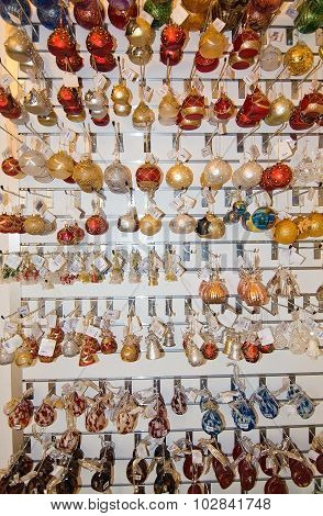 Handblown Glass Bulbs