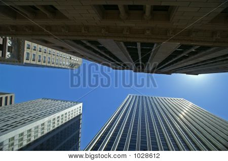 San Francisco High Rises/Low Angle