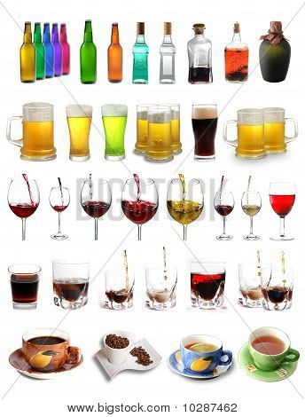 Assortment Of Drinks