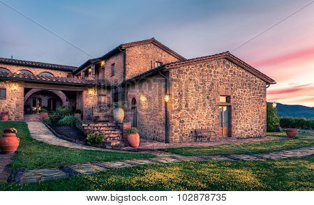 Old Tuscan Manor