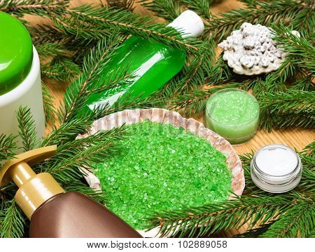 Organic Spa And Pampering Cosmetic Products