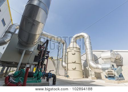 Waste Plant Pipes