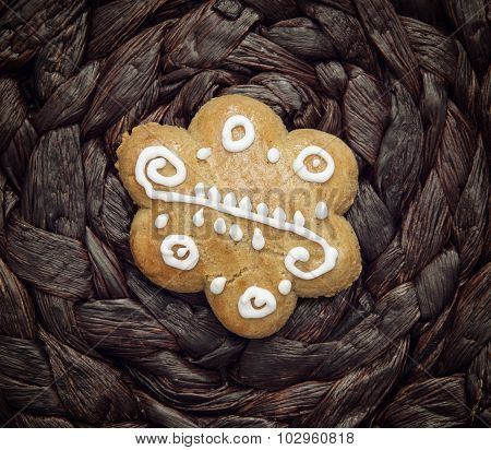 One Gingerbread Cookie