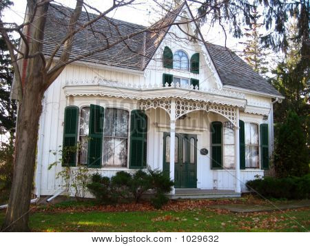 Erland Lee Historical Gable House 1
