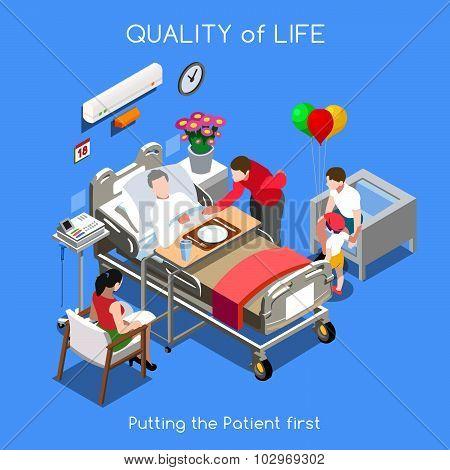 Hospital 01 People Isometric