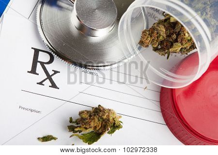 Legal Drugs Concept