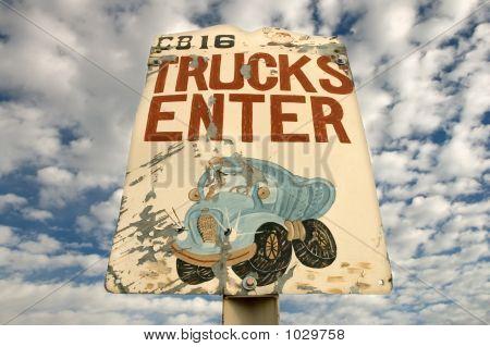 Big Truck Sign