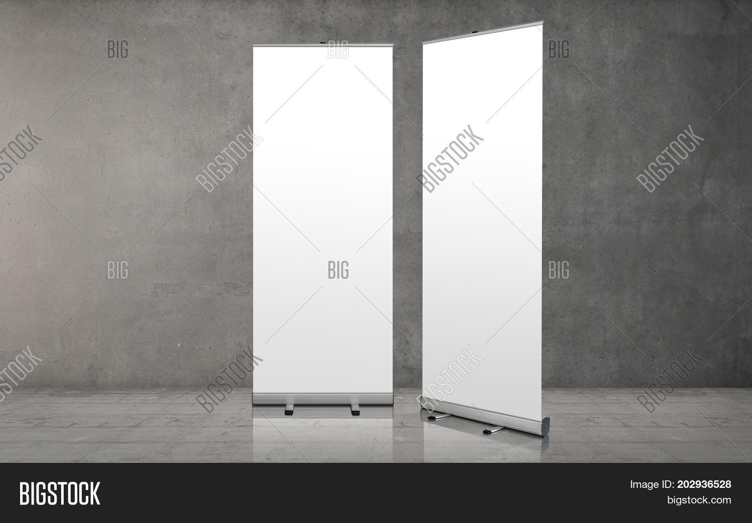 Exhibition Stand Template : Roll banner stand image photo free trial bigstock